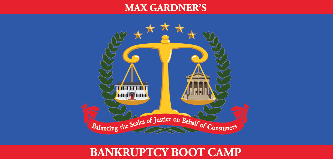 featuring the Bankruptcy Boot Camp